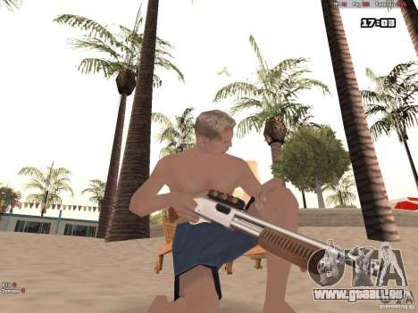 Woody Weapons Pack für GTA San Andreas zweiten Screenshot