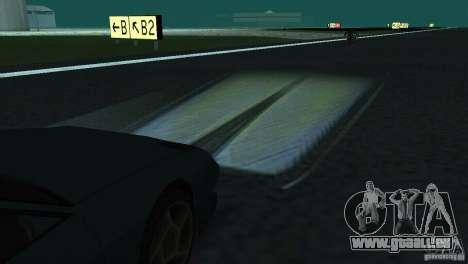 Halogen-Scheinwerfer für GTA San Andreas her Screenshot