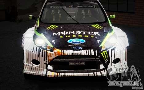 Ford Fiesta Gymkhana Four für GTA San Andreas Seitenansicht