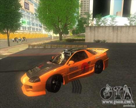 Mitsubishi 3000 GT pour GTA San Andreas vue arrière