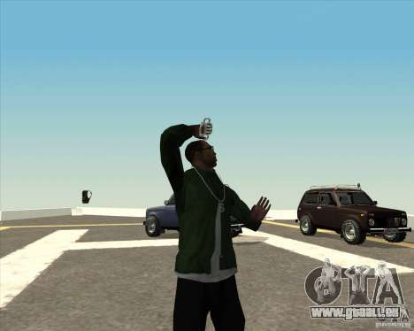 Animation différente pour GTA San Andreas huitième écran