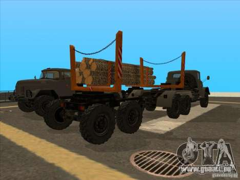 TMZ-802a für GTA San Andreas linke Ansicht