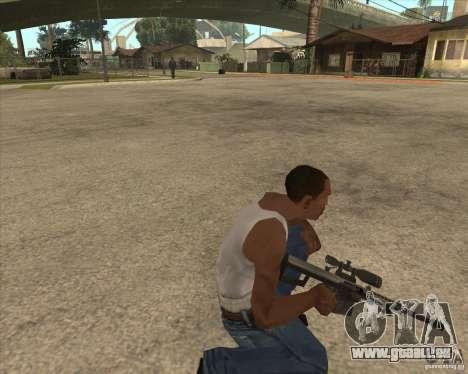 New sniper für GTA San Andreas dritten Screenshot