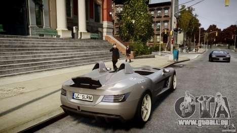 Mercedes-Benz SLR McLaren Stirling Moss [EPM] pour GTA 4 est une vue de dessous