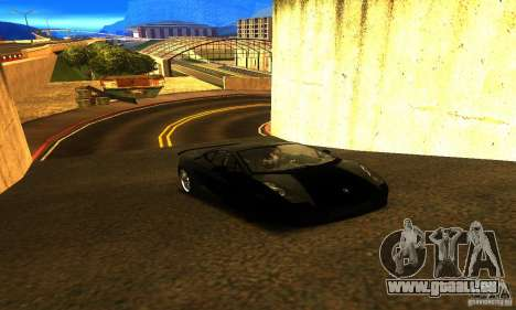 Lamborghini Gallardo pour GTA San Andreas vue de droite