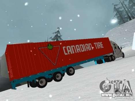 Remorque conteneur pour GTA San Andreas