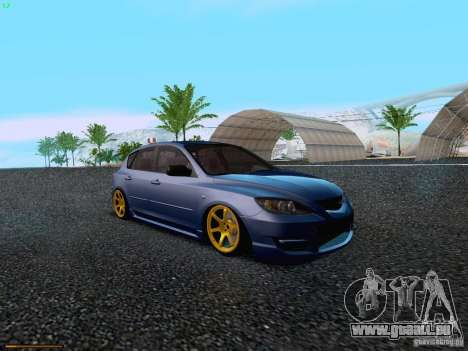 Mazda Speed 3 pour GTA San Andreas laissé vue