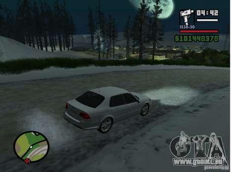 Mazda RX8 für GTA San Andreas linke Ansicht