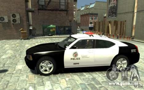 Dodge Charger LAPD V1.6 für GTA 4 linke Ansicht