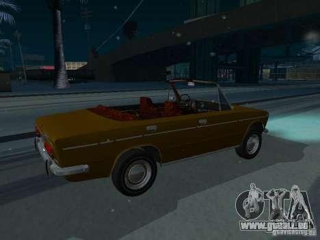 VAZ 2103 Convertible pour GTA San Andreas sur la vue arrière gauche