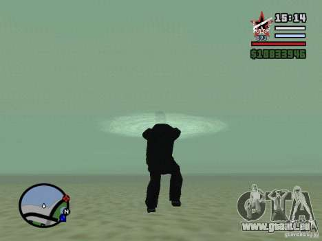 ENBSeries pour GForce FX 5200 pour GTA San Andreas cinquième écran