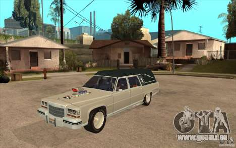 Cadillac Fleetwood 1985 Hearse Tuned pour GTA San Andreas