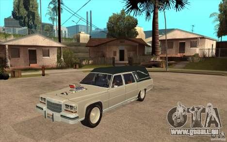 Cadillac Fleetwood 1985 Hearse Tuned für GTA San Andreas