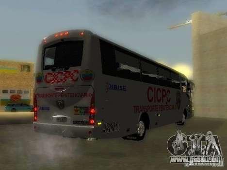 Irizar CICPC pour GTA San Andreas laissé vue