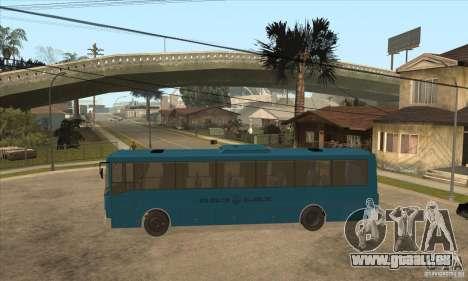 LAZ 52078 (Liner-12) pour GTA San Andreas laissé vue