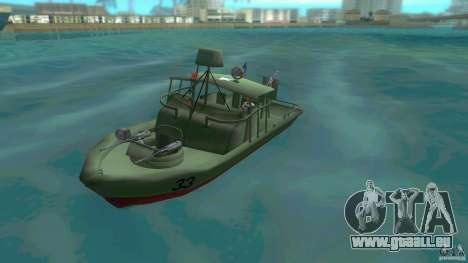 Patrol Boat River Mark 2 (Player_At_Wheel) pour GTA Vice City