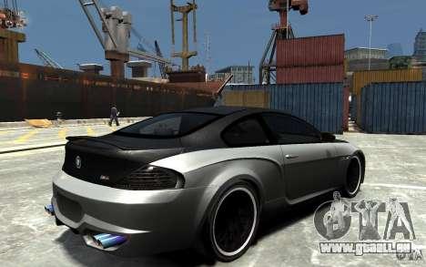 BMW M6 Tuning pour GTA 4 est un droit