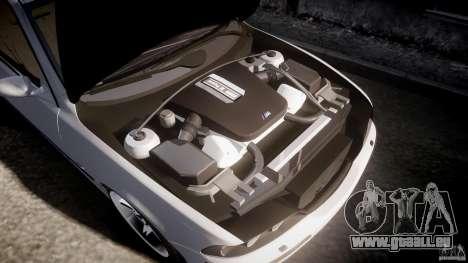 BMW M5 E39 Stock 2003 v3.0 pour GTA 4 est une vue de dessous