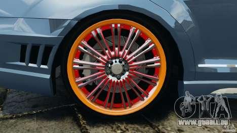 Mercedes-Benz S W221 Wald Black Bison Edition pour GTA 4 Salon