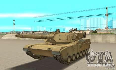 Char M1A2 Abrams pour GTA San Andreas