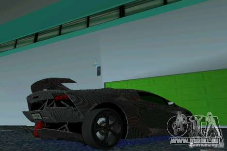 Lamborghini Sesto Elemento für GTA Vice City rechten Ansicht