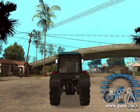 Tracteur MTZ-80 pour GTA San Andreas vue de droite