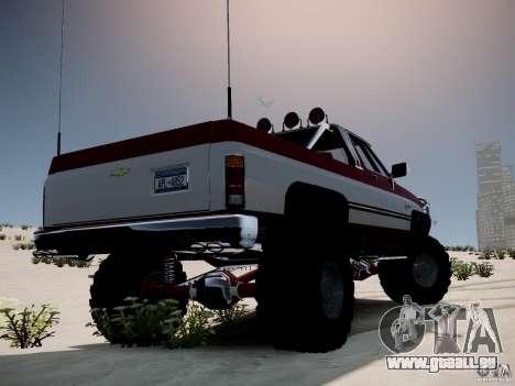 Rancher XL 3.0 pour GTA 4 est une gauche