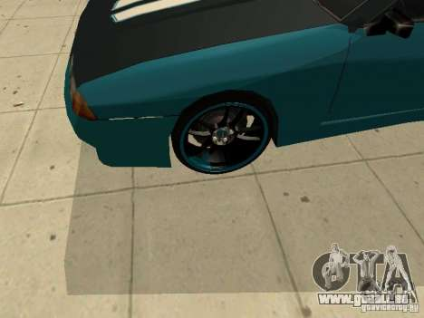 Elegy Forsage pour GTA San Andreas vue arrière