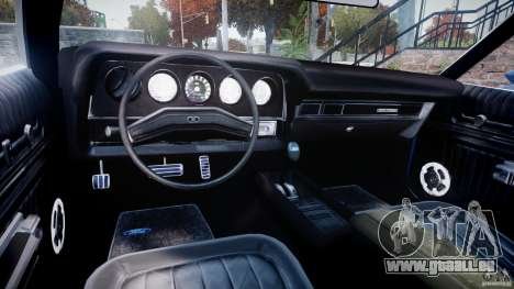 Ford Gran Torino 1975 pour GTA 4 Vue arrière