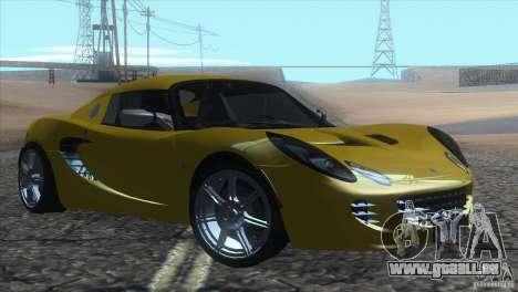 Lotus Elise für GTA San Andreas linke Ansicht