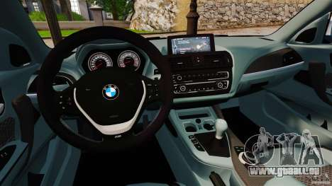 BMW 135i M-Power 2013 für GTA 4 Rückansicht