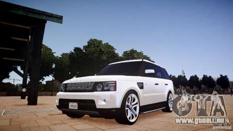 Range Rover Sport Supercharged v1.0 2010 pour GTA 4