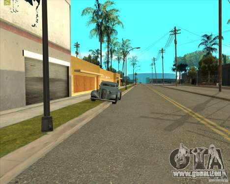 Car in Grove Street für GTA San Andreas achten Screenshot