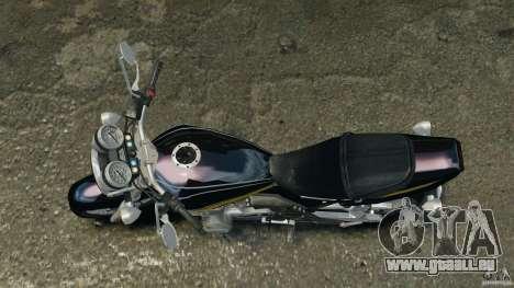 Kawasaki Zephyr pour GTA 4 est un droit