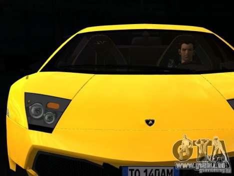 Lamborghini Murcielago LP670-4 sv für GTA San Andreas Unteransicht