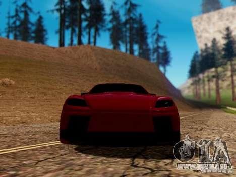 Mazda RX8 Reventon für GTA San Andreas Seitenansicht