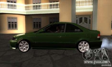 Honda Civic 1995 pour GTA San Andreas laissé vue