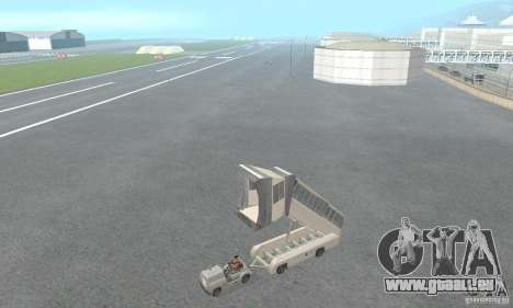Airport Vehicle pour GTA San Andreas sixième écran