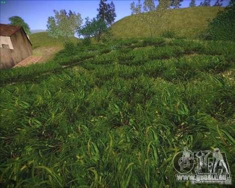 Grass form Sniper Ghost Warrior 2 pour GTA San Andreas sixième écran