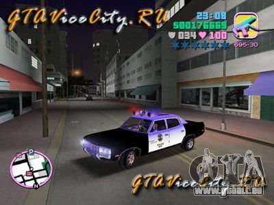 Police Ford AMC Matador für GTA Vice City