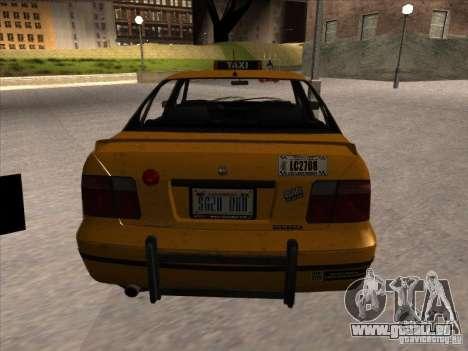 Taxi von GTA IV für GTA San Andreas zurück linke Ansicht
