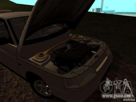 VAZ-21103 pour GTA San Andreas vue intérieure
