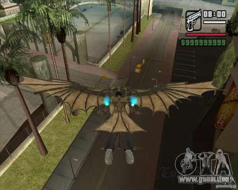 Machine volante de Leonardo da Vinci pour GTA San Andreas troisième écran