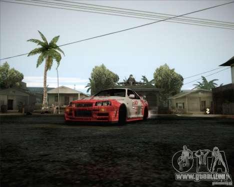 Nissan Skyline Z-Tune v2.0 für GTA San Andreas Innenansicht