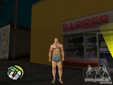 Weiße Cj für GTA San Andreas fünften Screenshot
