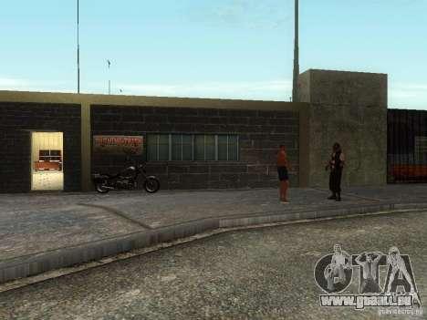 L'école réaliste motards v1.0 pour GTA San Andreas deuxième écran
