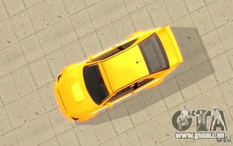 Sultan RS de GTA 4 pour GTA San Andreas vue de droite