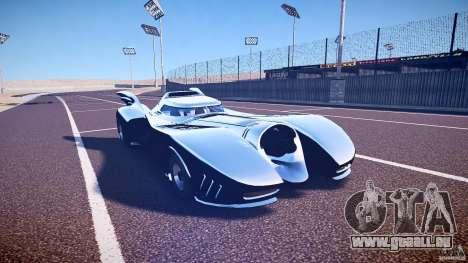 Batmobile v1.0 für GTA 4 Innenansicht