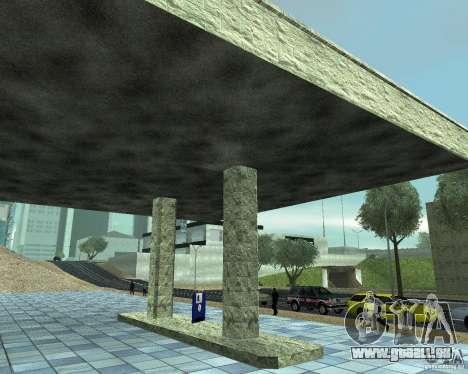 HD Garage de Doherty pour GTA San Andreas troisième écran