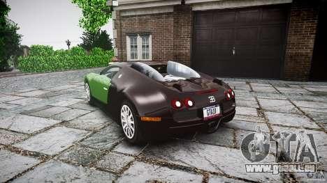 Bugatti Veyron 16.4 für GTA 4 hinten links Ansicht